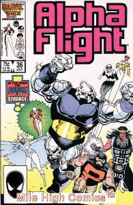 ALPHA FLIGHT (1983 Series)  #36 Very Fine Comics Book