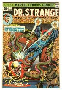 Doctor Strange 1   1st Silver Dagger   Brunner cover & art