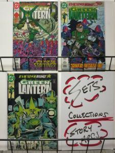 GREEN LANTERN (1990) 26-28 Evil Star Rising Compete