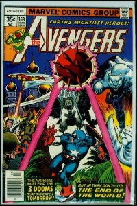 The Avengers #169. Beautiful, Bright, Firm Copy! VF+++