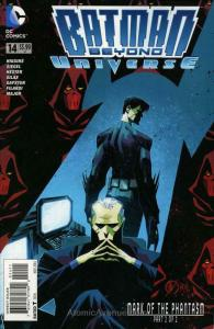 Batman Beyond Universe #14 VF/NM; DC   save on shipping - details inside