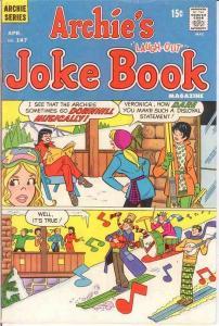 ARCHIES JOKE BOOK (1954-1982)147 F April 1970 COMICS BOOK