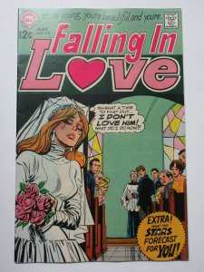 Falling in Love (May 1969) #107 VF A Kiss for Cinderella