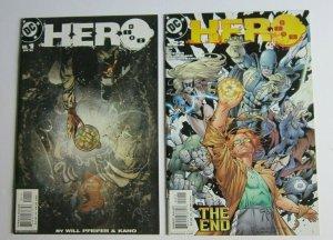 Hero #1-22 Complete Set 1st Prints VF/NM High Grade DC Comics 2003