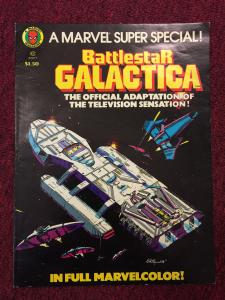 Marvel Super Special #8 Treasury Battlestar Galactica  1978 Comic Book