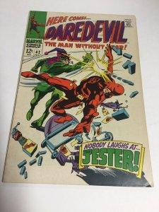 Daredevil 42 Vf Very Fine 8.0 Marvel Comics Silver Age