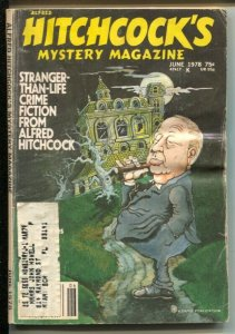 Alfred Hitchcock's Mystery Magazine 6/1978-Park Plaza Theft-Ernest Savage-G