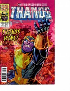 Thanos (2017) #13 NM (9.4) First Cosmic Ghost Rider Signed by Cates