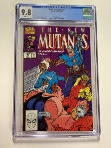 New Mutants 89 Cgc 9.8 White Pages Marvel X-men Copper Age