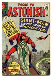 TALES TO ASTONISH #55 comic book 1964 GIANT-MAN-MARVEL SILVER-AGE