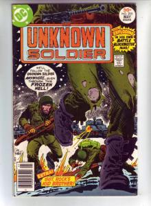 Unknown Soldier, The #205 (May-77) VF/NM High-Grade Unknown Soldier, Lt. Larr...