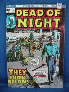 Dead of Night #3 (Apr 1974, Marvel) VF+