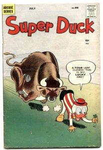 Super Duck #86 1952- Alamo- Archie Silver Age G