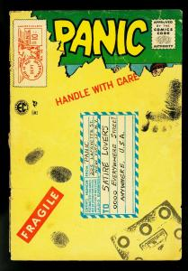 Panic #10 1955- EC Comics- Davis- Elder- fair/good