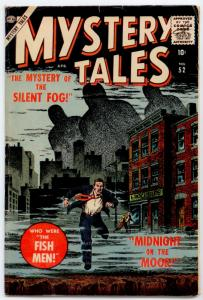 Mystery Tales #52 FN 6.0  Cover art by John Severin, Mystery of the Silent Fog