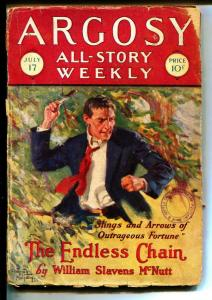 Argosy-Pulps-7/17/1927-William Slavens McNutt-Ralph Milne Farley