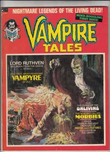 Vampire Tales #1 (Jan-73) VF/NM High-Grade Morbius the Living Vampire