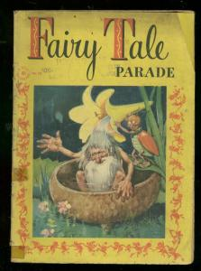 FAIRY TALE PARADE-FOUR COLOR COMICS #121 1946---DRAGONS G/VG