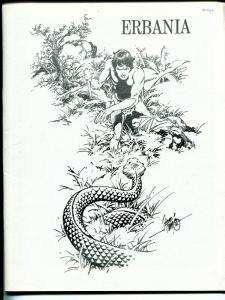 Erbania #41/42 1977 -Edgar Rice Burroughs-Tarzan-Alex Nino-info-pix- FN/VF