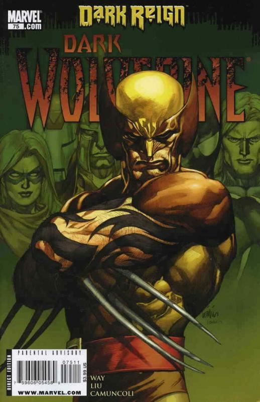 Dark Wolverine #75 VF/NM; Marvel | save on shipping - details inside