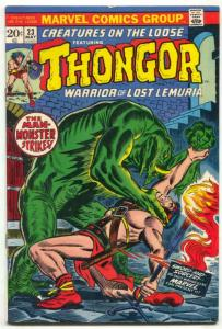 Creatures On The Loose #23 1973- Thongor of Lemuria -VG+
