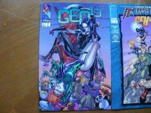 3 Near-Mint Image GEN 13 #9 #11 #14 Comic (1996) Choi Ramos Gordon Campbell Hope