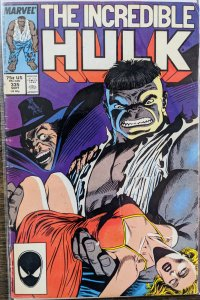 The Incredible Hulk #335 (1987) FINE - Rough Spine