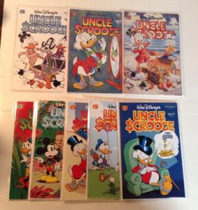 Uncle Scrooge 310-315 317 318 Near Mint Lot Set Run