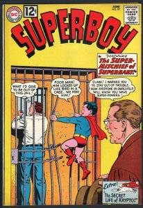SUPERBOY #97-1962-secret life of krypto-DC SILVER AGE-VF VF