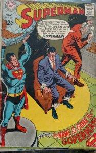 Superman #211(DC,1968) Condition GD