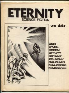 Eternity Science Fiction Fanzine #1 1972- Philip K Dick- FN