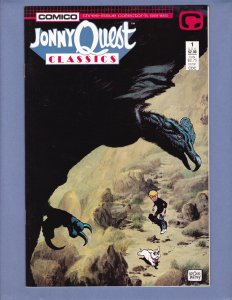 Jonny Quest Classics #1 VF/NM Comico 1987