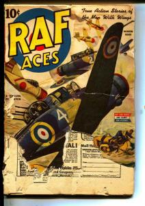 RAF Aces-Pulps-Winter/1944-Don Tracy-Robert Sidney Bowen