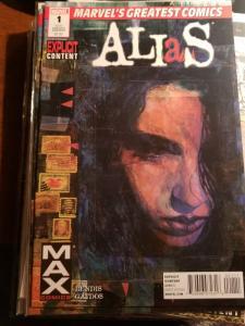 Alias #1, Jessica Jones  Marvel Comic Book  2nd Printing 2010-NM