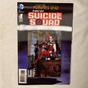 New Suicide Squad Futures End 1 Near Mint- Cover by Cover by Jeremy P. Roberts