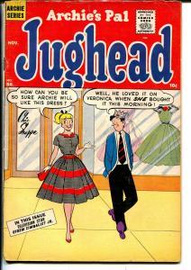 Archie's Pal Jughead #56 1958-MLJ-Betty-Veronica-Efrem Zimbalist Jr-VG/FN