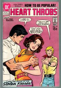 HEART THROBS #131 1971 DC-ROMANCE-VG-CRYING CVR VG