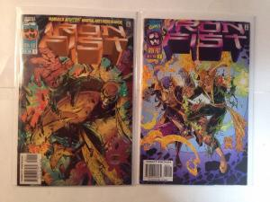 Iron Fist 1-2 Complete Near Mint Lot Set Run 1996 Plus Bonus