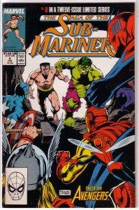Saga of the Sub-Mariner   # 8 of 12 GD