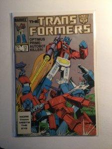 Transformers 12 Near mint nm Marvel