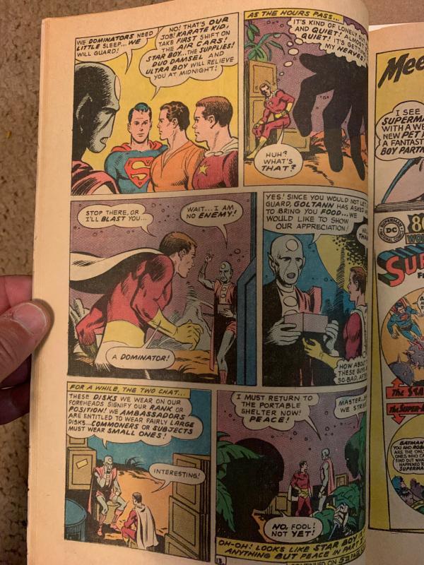 Adventure Comics (1938) 361 Fine+ (6.5)  Legion of Super-Heroes