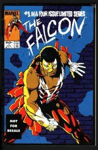 THE FALCON #1-KEY ISSUE-ORIGIN-RARE 2ND PRINT-HTF-NM