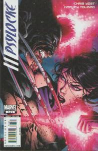 PSYLOCKE #4 of 4, LIMITED SERIES / WOLVERINE COVER - , MARVEL - BAGGED & BOARDED