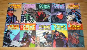 Crime Classics #1-13 VF/NM complete series - the shadow complete and uncut - set