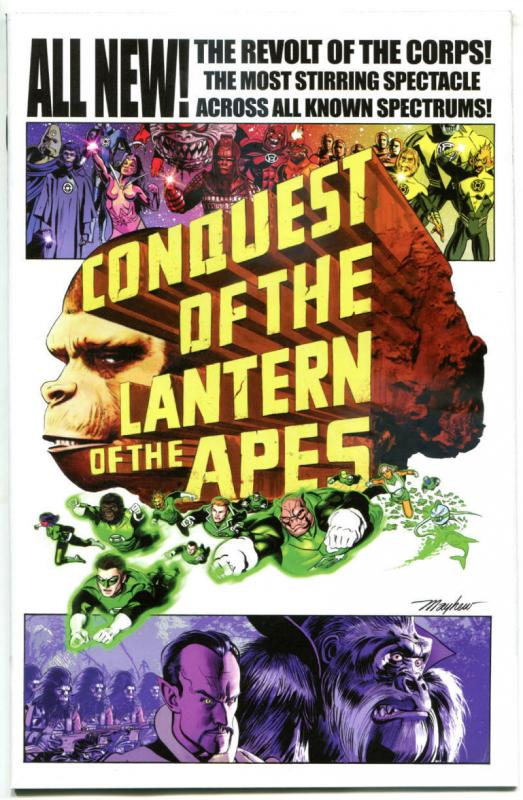 PLANET of the APES GREEN LANTERN #4, NM, Variant, 2017, Mayhew, more in store