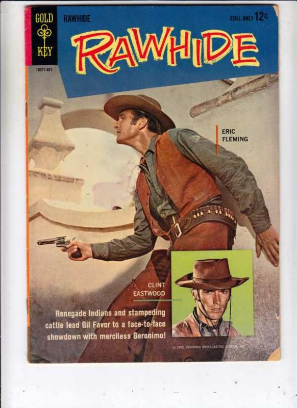 Rawhide #2 (Jan-64) FN- Mid-Grade Eric Fleming, Clint Eastwood