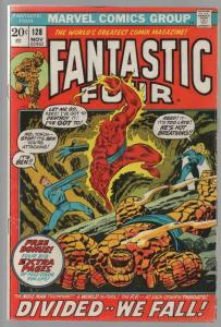 FANTASTIC FOUR 128 VG-F Nov. 1972