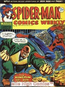 SPIDER-MAN WEEKLY  (#229-230) (UK MAG) (1973 Series) #80 Near Mint