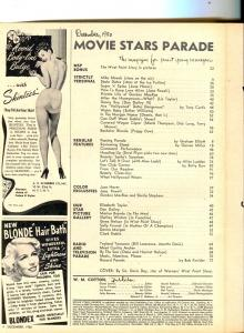 Movie Stars Parade-Doris Day-Shelley Winters-Clark Gable-Dec-1950