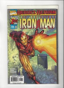 Ironman Vol 3 #1 Heroes Return Avengers NM+